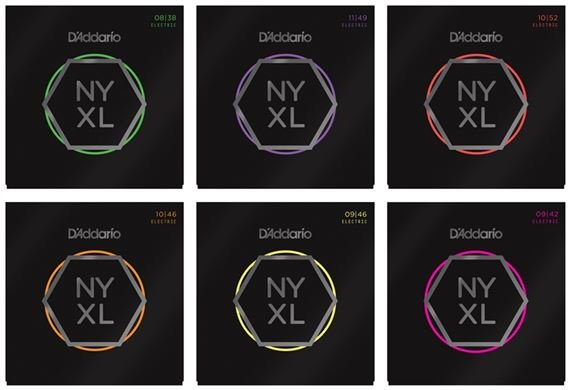 Addario NYXL Nickel Wound Electric Guitar Strings