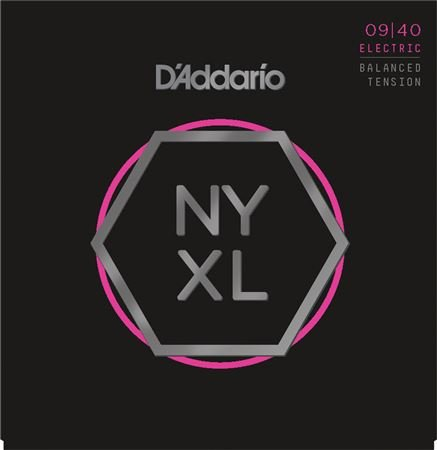 Daddario NYXL Nickel Wound Balanced Tension Guitar Strings