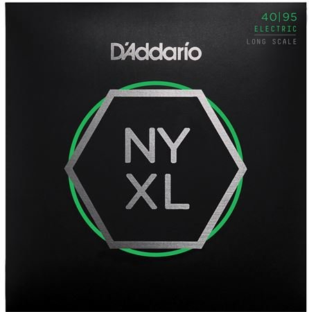 D'Addario NYXL Nickel Wound Bass Set Long Scale