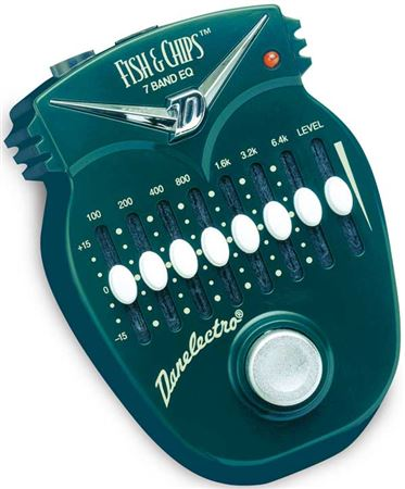 Danelectro Fish & Chips 7 Band EQ Pedal