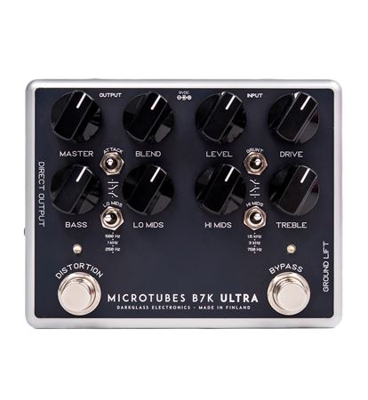Darkglass Microtubes B7K Ultra Bass Preamp EQ and Boost Pedal