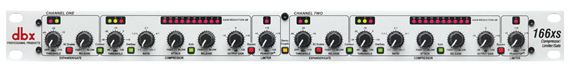 dbx 166XS Dual Channel Compressor Limiter Gate