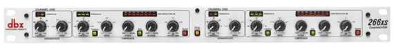 dbx 266xs Dual Channel Compressor Limiter Gate
