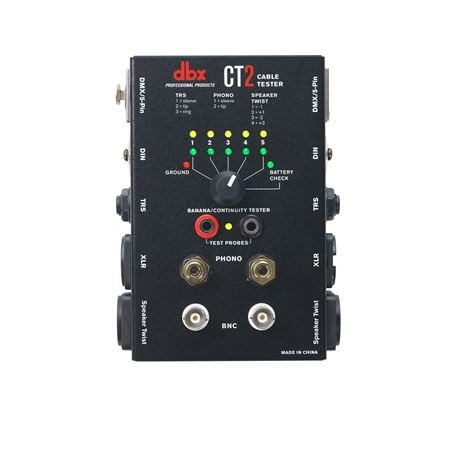 dbx CT2 Audio and DMX Cable Tester
