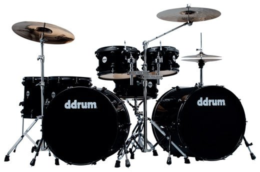 Ddrum Journeyman Double Down 22 7 Piece Drum Set with Hardware