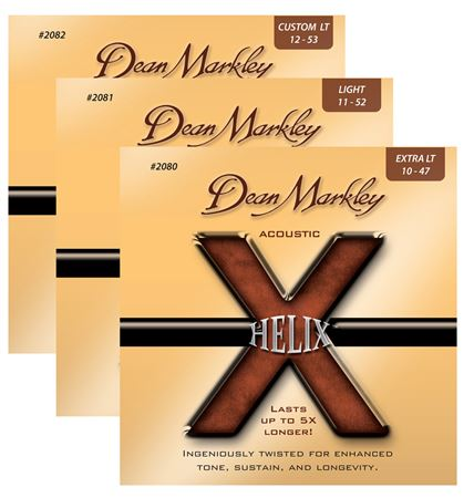 Dean Markley Helix HD Acoustic Guitar Strings