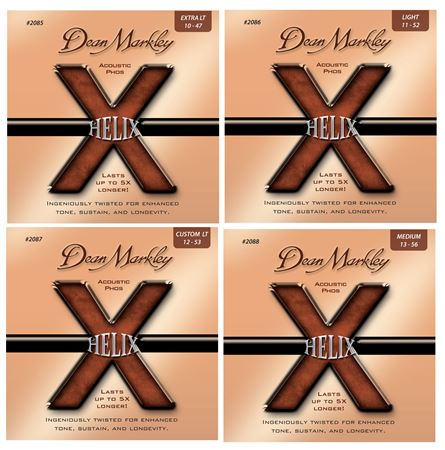 Dean Markley Helix HD Phosphor Acoustic Guitar Strings