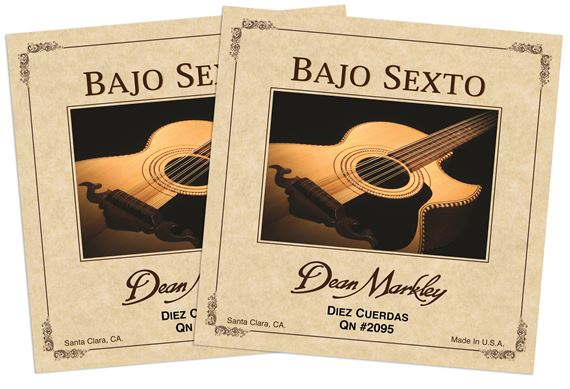 Dean Markley Bajo Sexto Diez Cuerda Guitar Strings