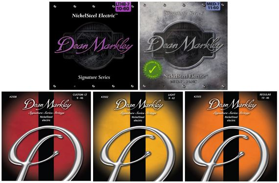 Dean Markley 7-String NickelSteel Signature Series Electric Guitar Strings