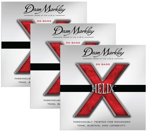 Dean Markley Helix SS Stainless Steel Bass Guitar Strings