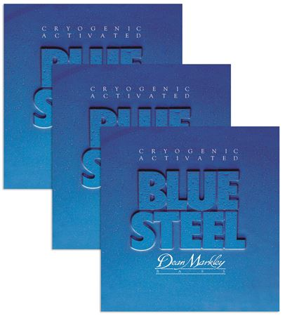 Dean Markley Blue Steel Cryogenic Activated Bass Guitar Strings