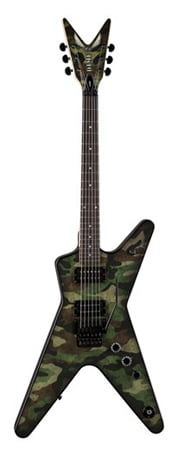 Dean Dimebag Camo Floyd Electric Guitar