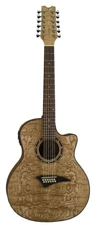 Dean Exotica Quilt Ash 12 String Acoustic Electric Guitar