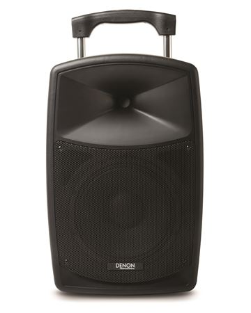 Denon Envoi Portable AC/Battery Powered PA System With Wireless Mic