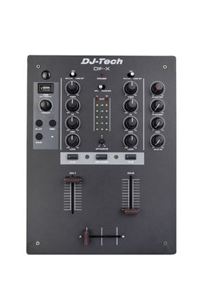 DJ Tech DIFX 2 Channel Professional DJ Mixer
