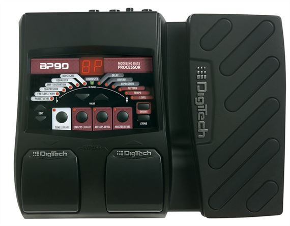 Digitech BP90 Bass Guitar Multieffects Processor