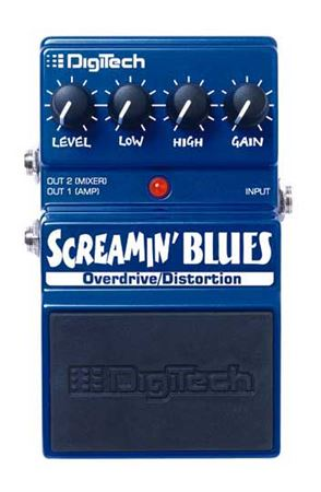 DigiTech Screamin Blues Overdrive Distortion Pedal