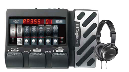 DigiTech RP355 Guitar Multieffects Pedal with USB