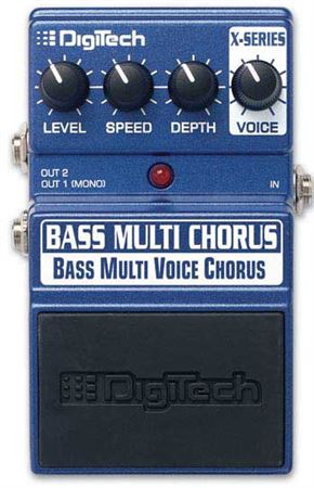 DigiTech Bass Multi Chorus Pedal