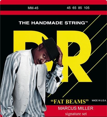 DR Strings MM45 Fat Beam Marcus Miller Bass Guitar Strings