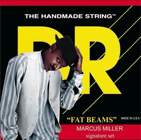 DR Strings MM545 Fat Beam Marcus Miller 5-String Bass Strings