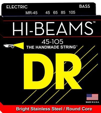 DR Strings MR45 Hi Beam Bass Guitar Strings