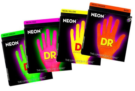 DR Strings Neon HiDef Superstrings 6 String Bass Strings