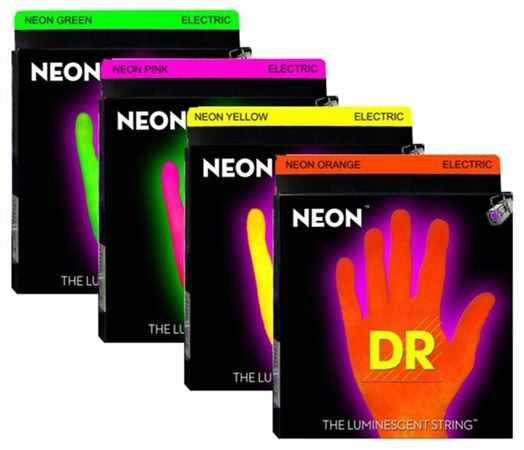 DR Strings K3 Neon HiDef Electric Guitar Strings