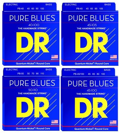 DR Strings Pure Blues Bass Guitar Strings