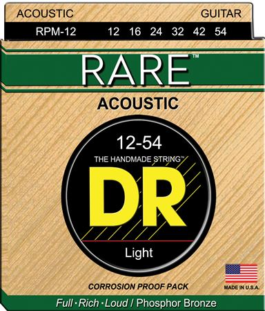 DR Strings RPML11 Rare Bronze Acoustic Guitar Strings