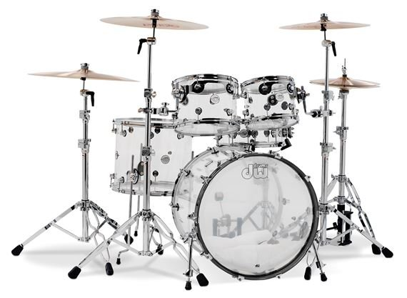 Drum Set Outline Acrylic Shell Kit Drum Set