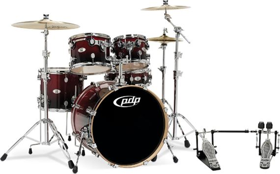 Pacific M5 Maple 5 Piece Shell Kit Drum Set