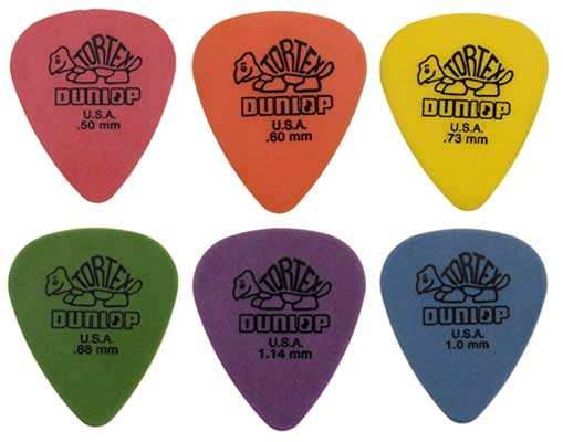 Dunlop 4181 Tortex Standard Guitar Picks