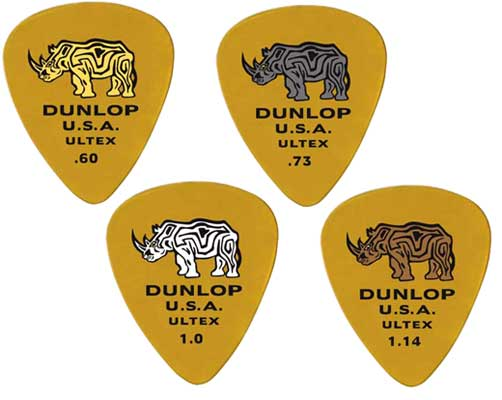 Dunlop 421P Ultex Standard Guitar Picks 6 Pack