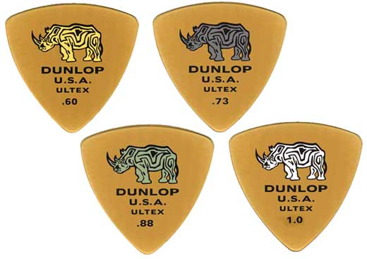 Dunlop 426R Ultex Triangle Guitar Picks 6 Pack