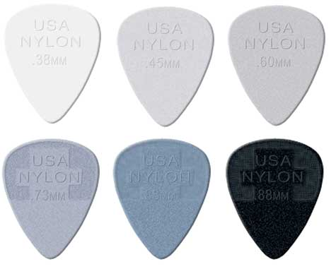 Dunlop 4420 Nylon Standard Guitar Picks