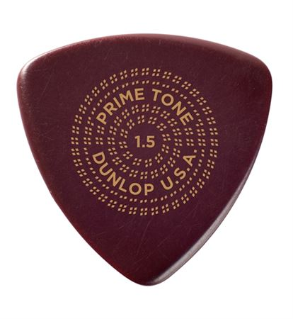Dunlop 513R Primetone Triangle Sculpted Plectra 12 Pack