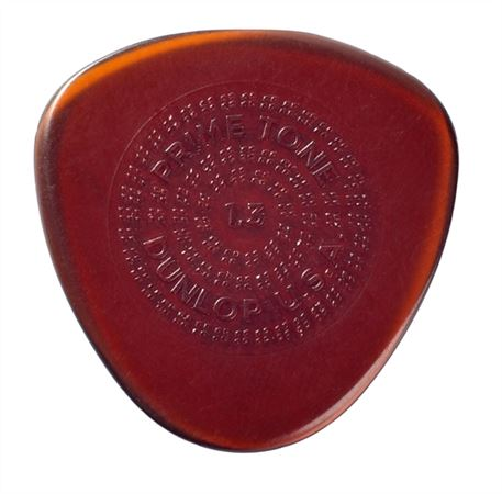 Dunlop 514P Primetone Semi-Round Sculpted Plectra with Grip 3 Pack