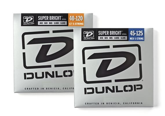 Dunlop DBSBS Super Bright Steel 5 String Bass Strings