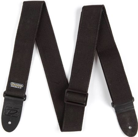 Dunlop DD4009BK Double D Long Guitar Strap
