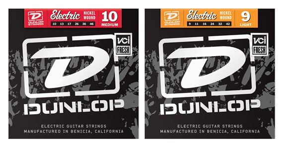 Dunlop DEN Nickel Wound Electric Guitar Strings