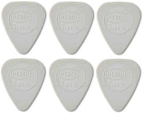 Dunlop HE777P Herco Holy Grail Guitar Pick 6 Pack