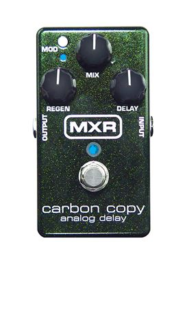 MXR M169 Carbon Copy Analog Delay Pedal