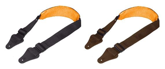 Eagle Mountain Guitar Strap with Sheepskin Pad