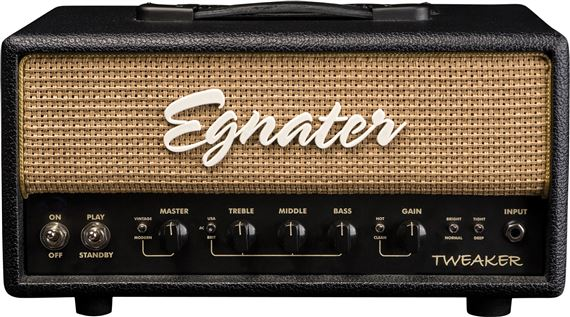 egnater tweaker 15 watt tube guitar amplifier head. Black Bedroom Furniture Sets. Home Design Ideas