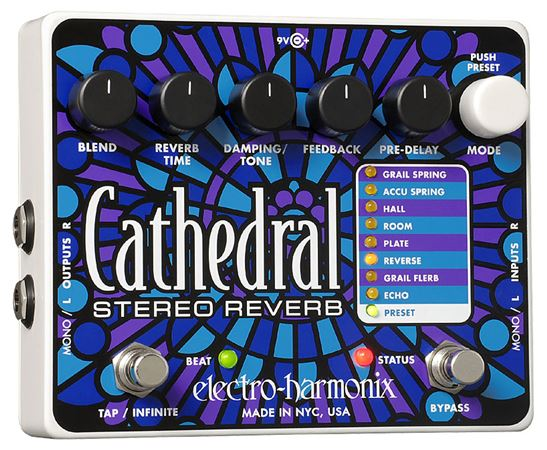 EHX CATHEDRAL LIST Product Image