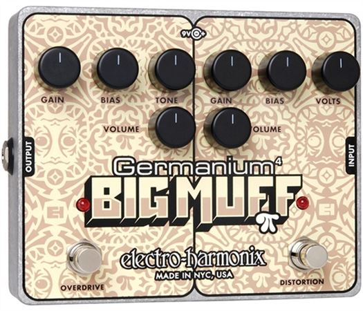 Electro-Harmonix Germanium 4 Big Muff Pi Distortion Pedal