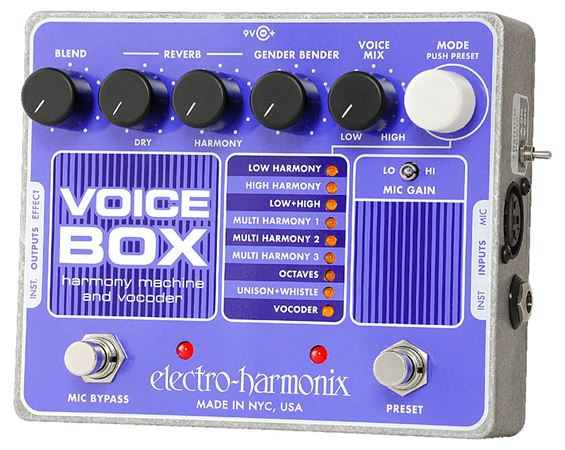 EHX VOICEBOX LIST Product Image