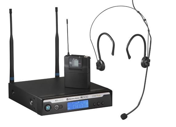 Electro-Voice R300E Omnidirectional Headset Wireless Microphone System