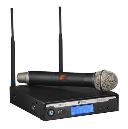 Electro-Voice R300HD Dynamic Handheld Vocal Wireless Microphone System